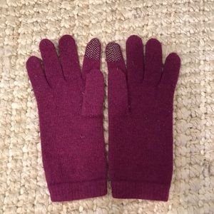 Purple Touch-Screen Gloves, OS